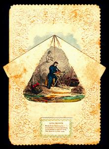 Civil War Valentine Tent Flap
