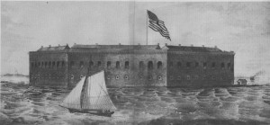 Fort Sumter, 1860