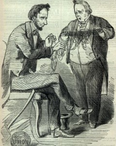 Buchanan handing over a mess to Lincoln